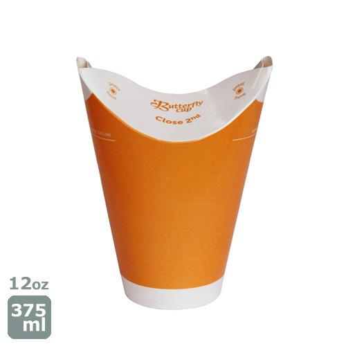 バタフライカップ12オンス(コールドシングルオレンジ) 800個