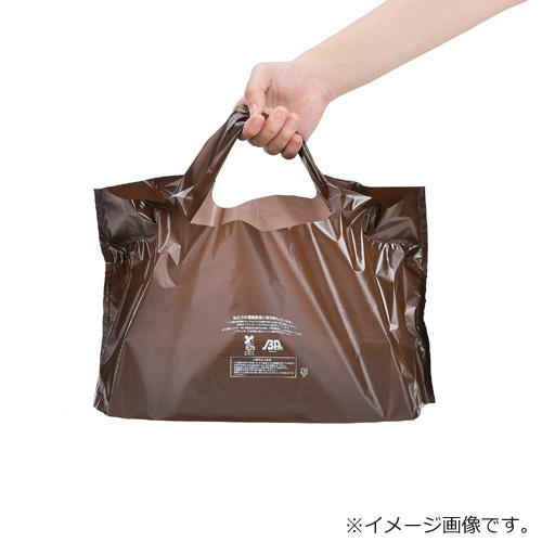 福助キャリーバッグバイオ25 ブラウン No.46 1000枚【レジ袋有料化対象外 】