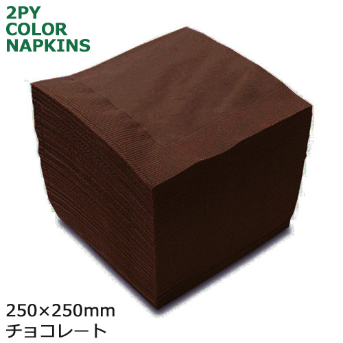 2プライナプキン4ツ折25cm(チョコレート) 3000枚