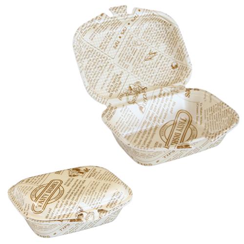 フードパック DLVランチ18-15 タイムス茶W 30枚