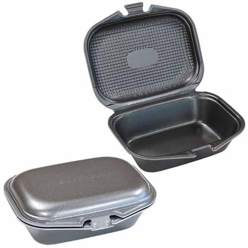 フードパック DLVランチ18-15 黒銀W 30枚