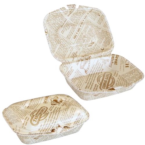 フードパック DLVランチ21-17 タイムス茶W 30枚