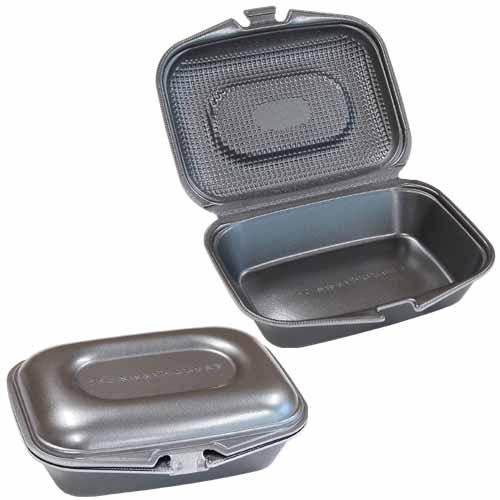 フードパック DLVランチ21-17 黒銀W 30枚