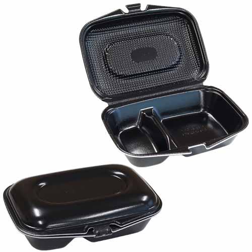 フードパック DLVランチ23-17-1 黒W 30枚