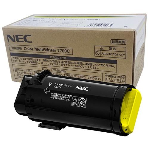 純正NECPR-L7700C-11 イエロー