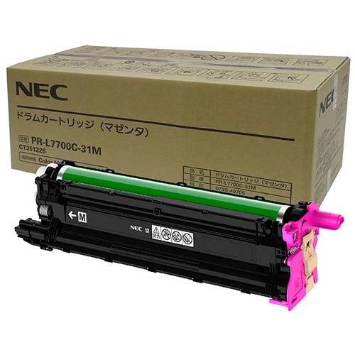 純正NECPR-L7700C-31M ドラムカートリッジ マゼンタ