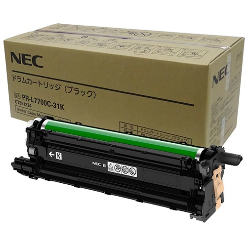 純正NECPR-L7700C-31K ドラムカートリッジ ブラック