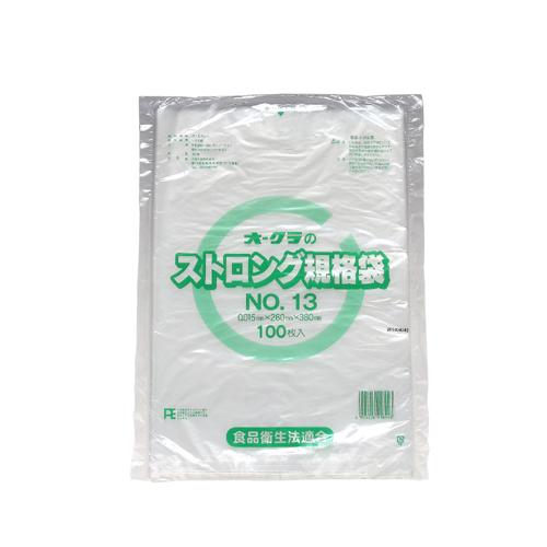 ストロング規格袋 NO.13 (透明) 4000枚