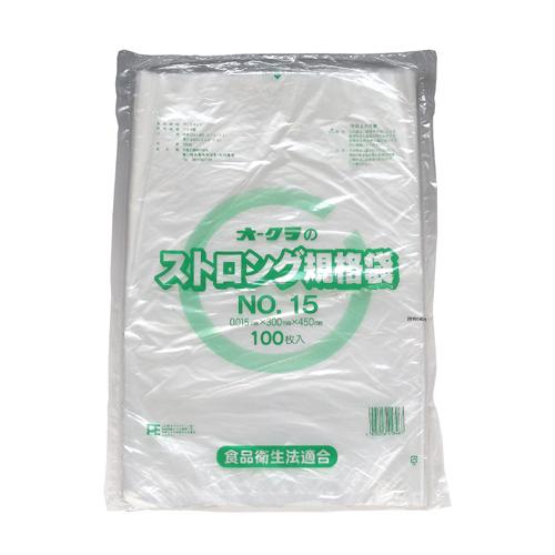 ストロング規格袋 NO.15 (透明) 4000枚