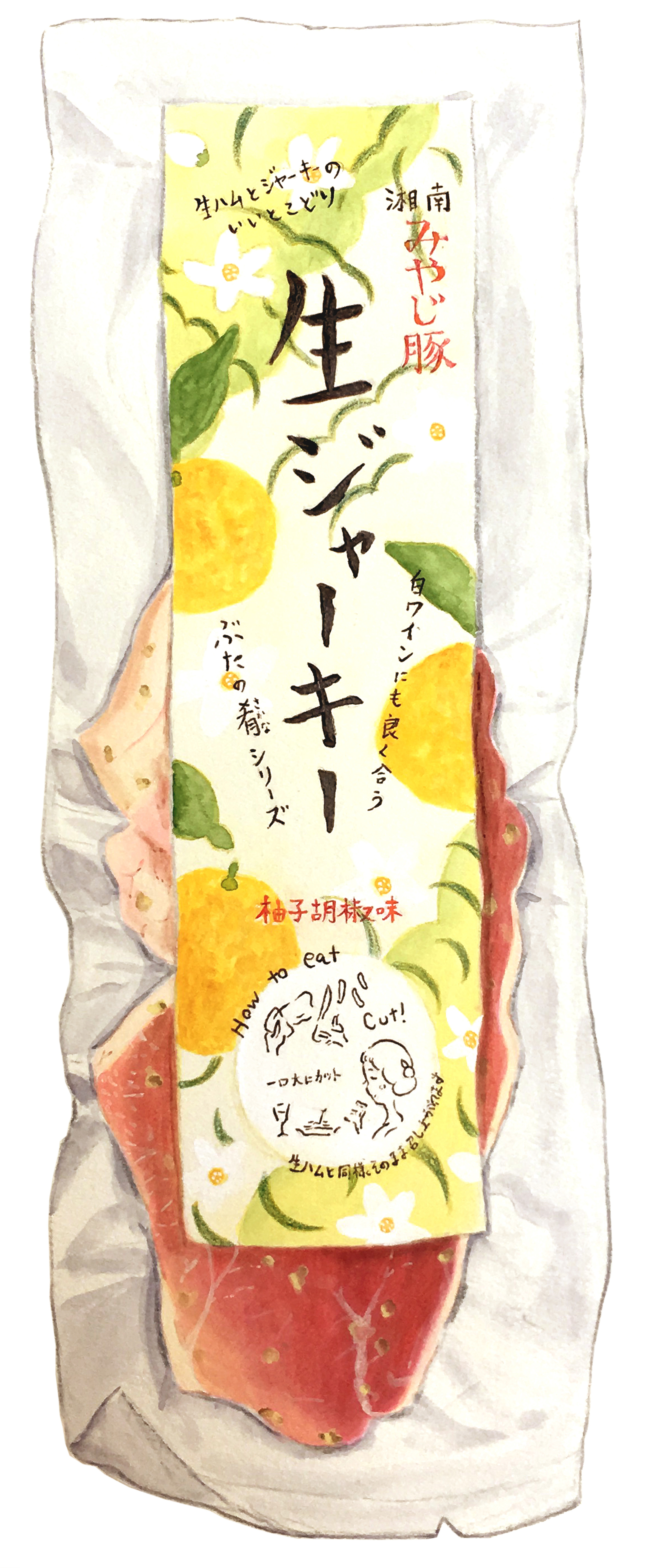 湘南みやじ生ジャーキー柚子胡椒