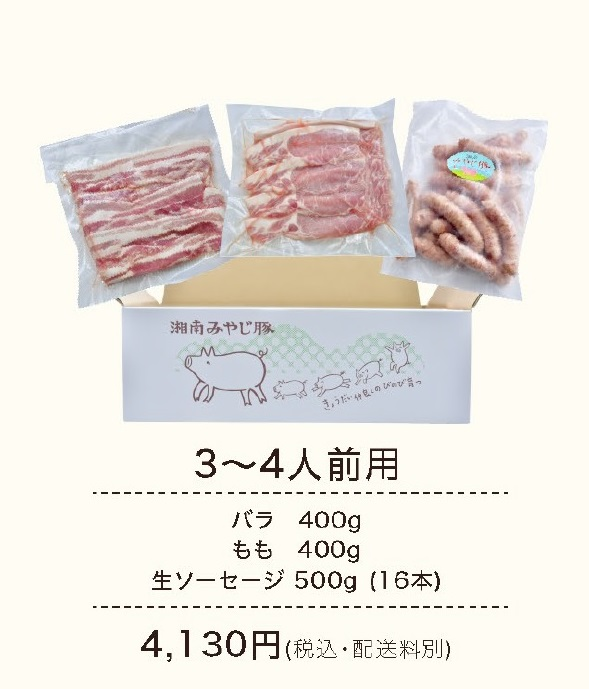 みやじ豚BBQセット3~4人前