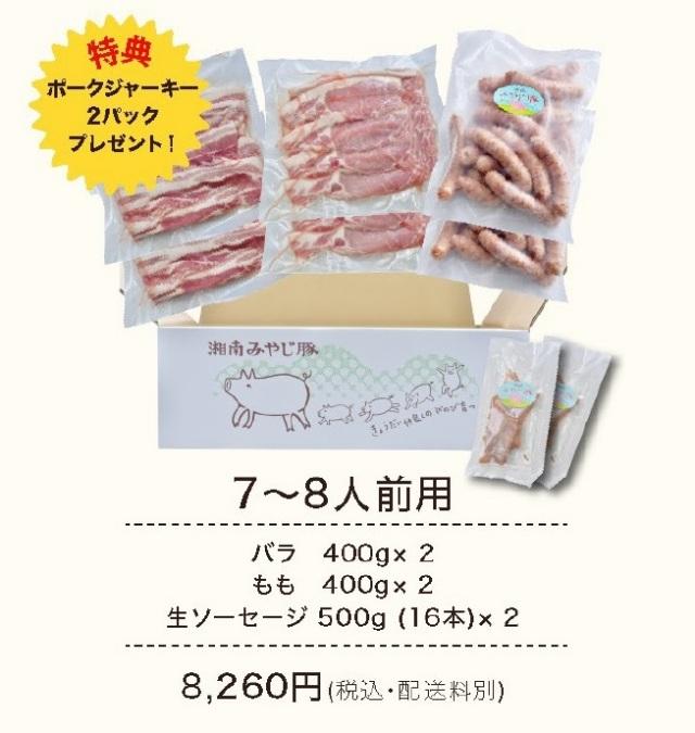 みやじ豚BBQセット7~8人前