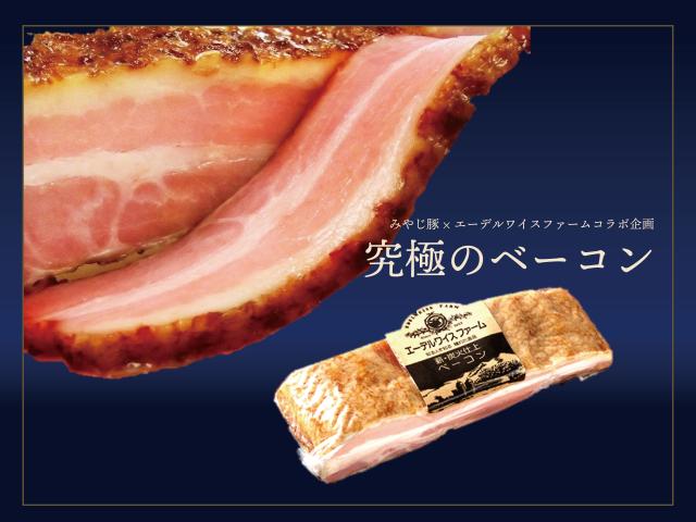 みやじ豚究極のベーコンブロック商品画像