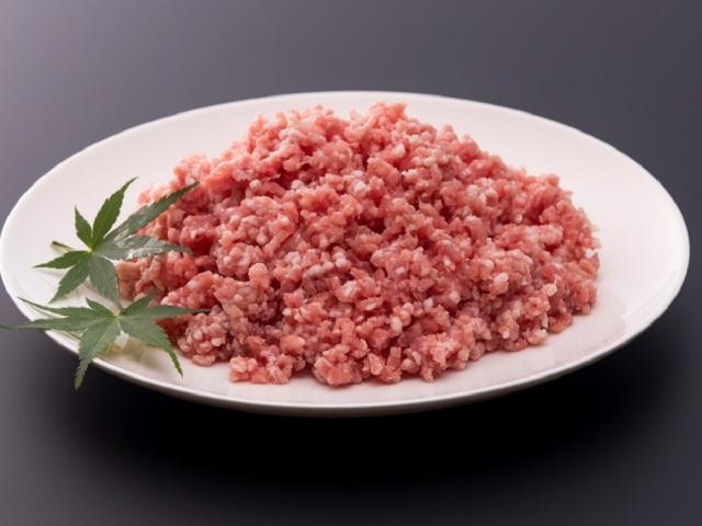みやじ豚のひき肉(細挽き)