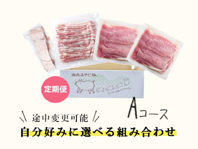 【定期便】みやじ豚応援隊Aコース【バラ800g・もも800g】