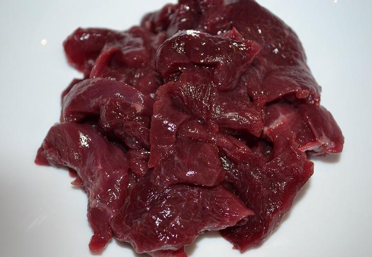 屋久島の鹿肉 細切れ1kg