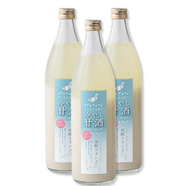 アイガモ米糀の甘酒セット
