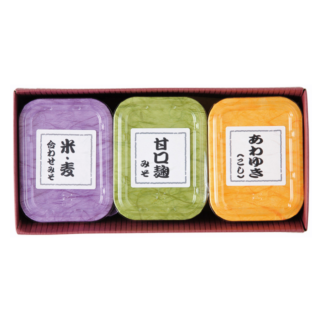 味噌3種セット
