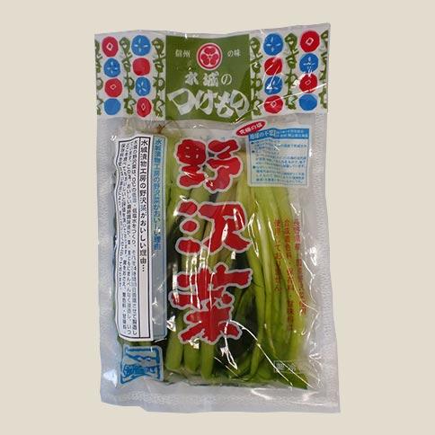 野沢菜醤油漬(浅漬)