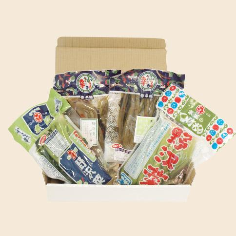選べる野沢菜4個セット(送料無料)