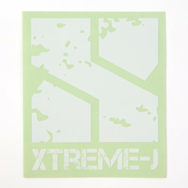 ロゴステッカー XTREME-J 【メール便可】