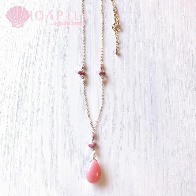 hp_n103 美しい天然石の14KGFネックレス Romantic Gems