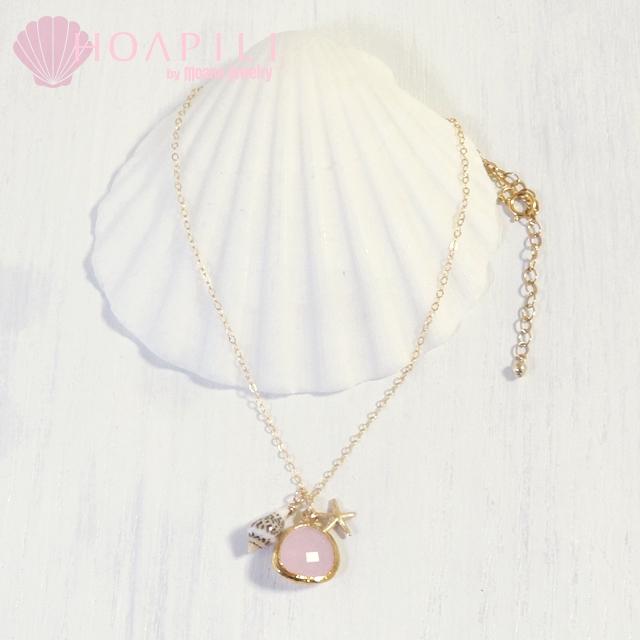hp_n71 14KGFネックレス Sea Diva(Pink)