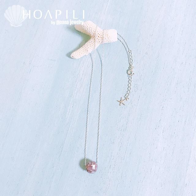 hp_n87 SV925製ネックレス モザイクシェル&スターフィッシュ