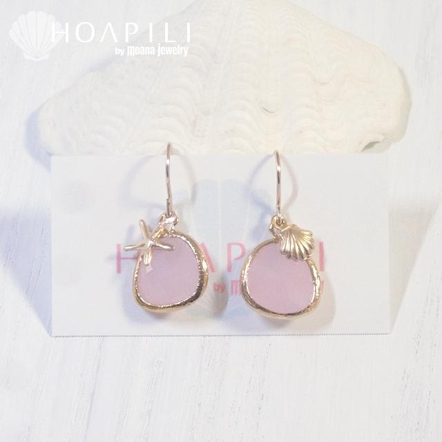 hp_p125 14KGFピアス Sea Diva(Pink)