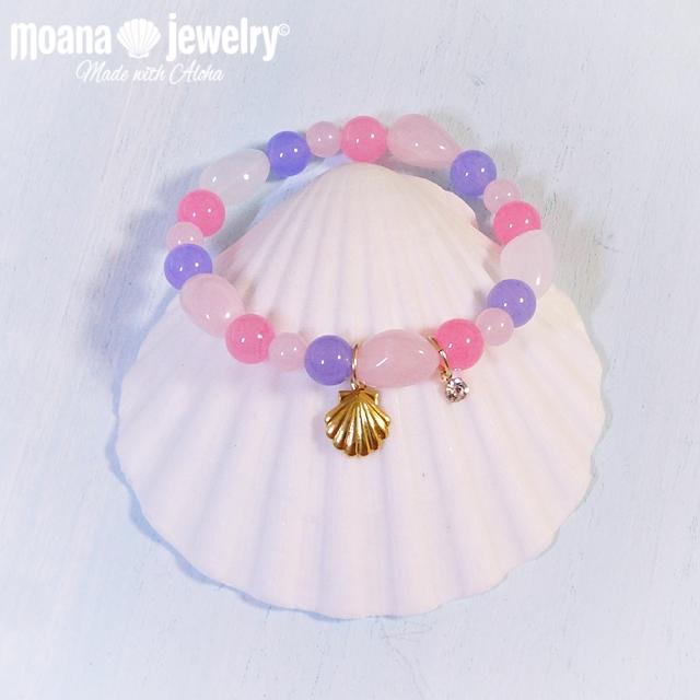 moana_b94 シェルチャームブレスレット Sea Shell