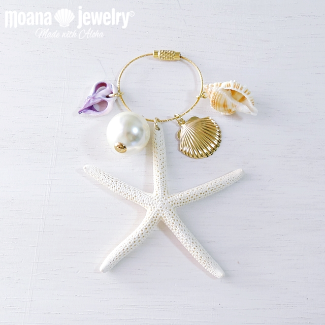 moana_bc1 数量限定 Island Sea Styleバッグチャーム Shell&Sea Star
