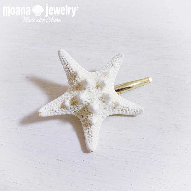 moana_ha2 ヒトデのトップピン Star Fish