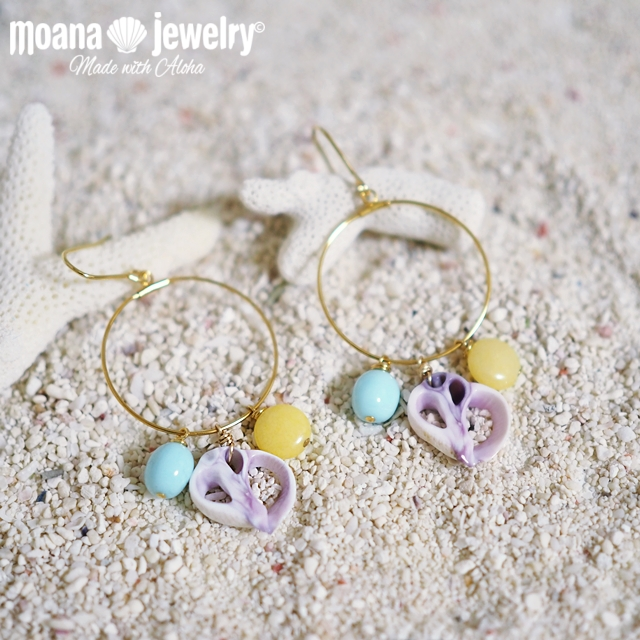 moana_p282 フープピアス Island Gems