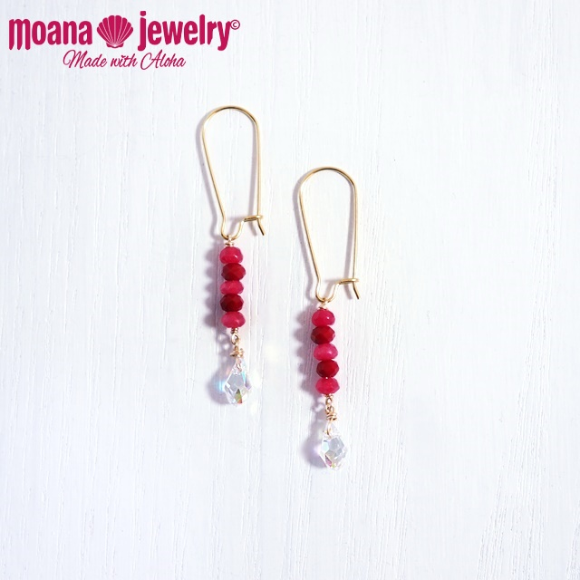 moana_p303 U字フックピアス Belly Candy
