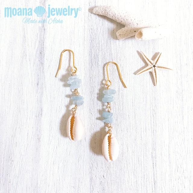 moana_p317 海を感じるピアス sea bijoux