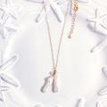 hp_n95 ケシパールの14KGFネックレス Keshi Pearl