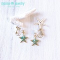moana_e14 ヒトデのイヤリング Star Fish