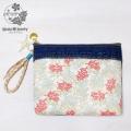 moana_mkmbg9 <<一点物>> MKM×moana jewelryコラボバッグ Coralデザイン&ユーズドデニムのミニクラッチバッグ