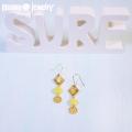 moana_p258 パイナップルのアシンメトリーピアス Tiny Pineapple