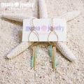 moana_p280 ドロップフープピアス Happy Sea