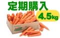 【お得な定期購入】ジュース用ニンジン(4.5kg)