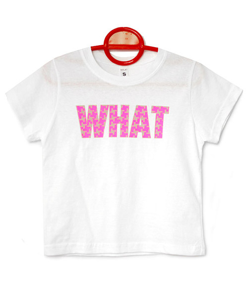 【SALE】≪Kids≫ポップロゴプリントビビッドカラー半袖Tシャツ/3カラー