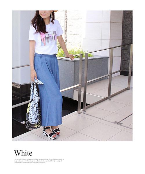 【SALE】半袖プリントTシャツ/2カラー