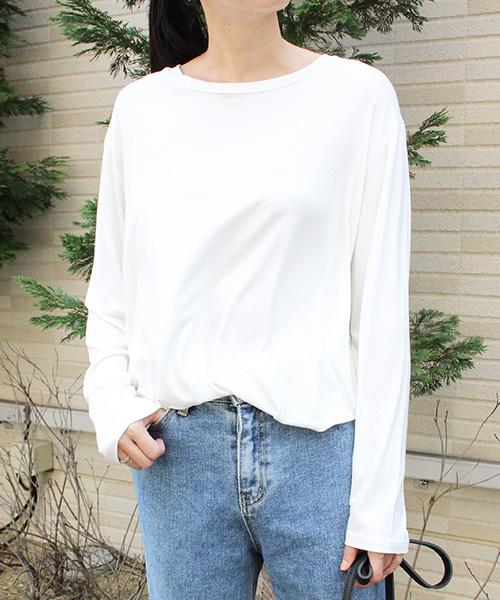 【SALE】ロングTシャツ/3カラー