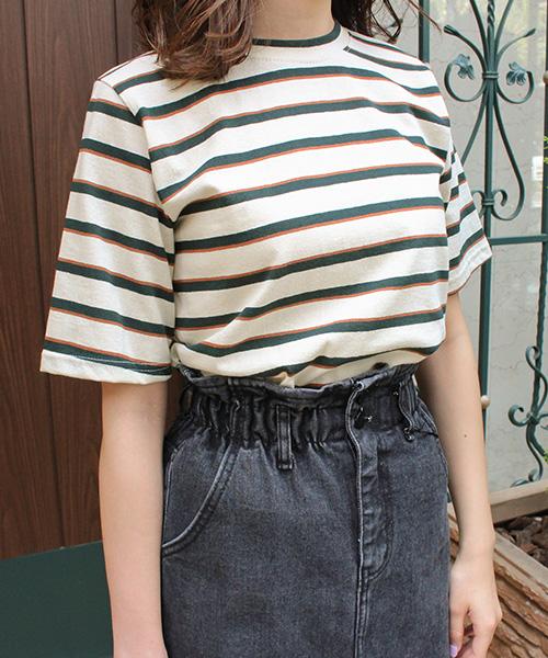 【SALE】ボーダーTシャツ/4カラー