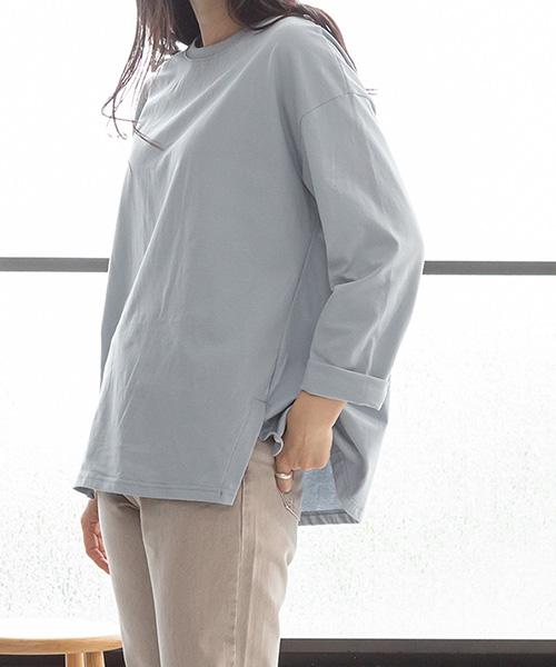 ビッグシルエットシンプルシャツ/3カラー【WEB限定】