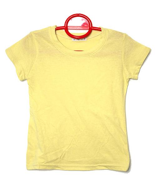 ≪Kids≫シンプル無地半袖Tシャツ/4カラー