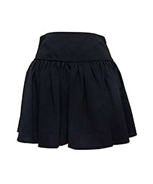【SALE】ジョーゼットフレアミニスカート/1カラー