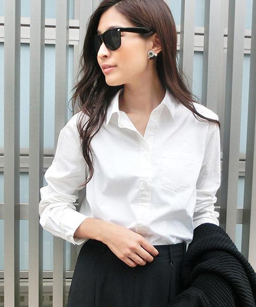 【SALE】ベーシックブロードコットンシャツ/3カラー