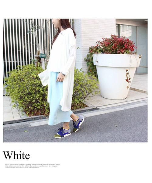 【SALE】カラーロングカーディガン/6カラー